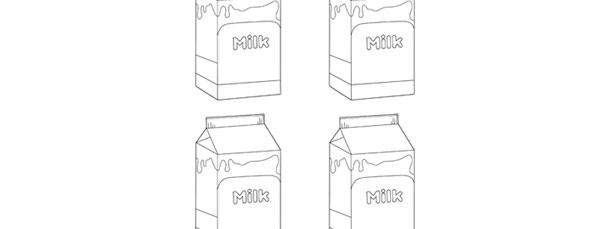 Milk Carton Template \u2013 Small - Milk Carton Template