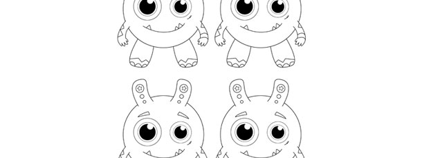 Monster Template \u2013 Small
