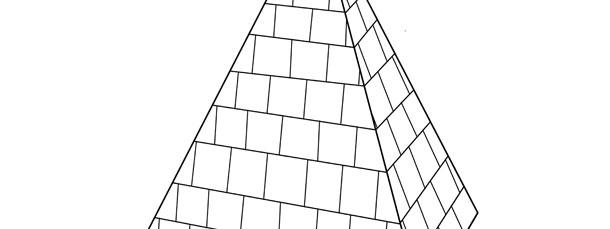 Pyramid Template \u2013 Large