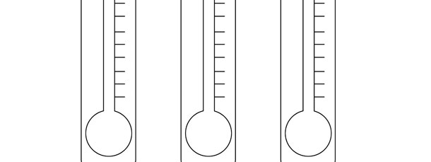 Thermometer Template \u2013 Medium - thermometer template