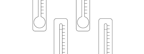 Thermometer Template \u2013 Small - thermometer template