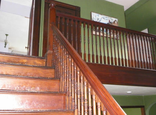 Staircase Shingle Style Charles G Loring House Beverly MA