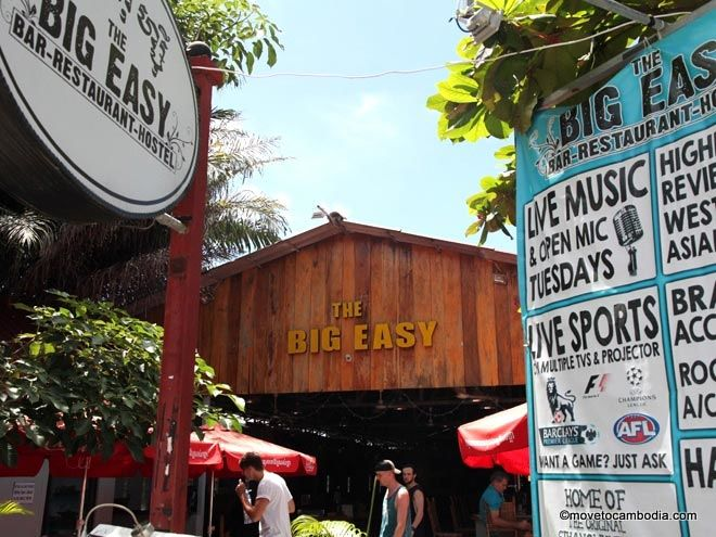Big Easy hostel Sihanoukville