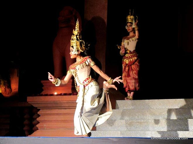phnom penh apsara dance performance