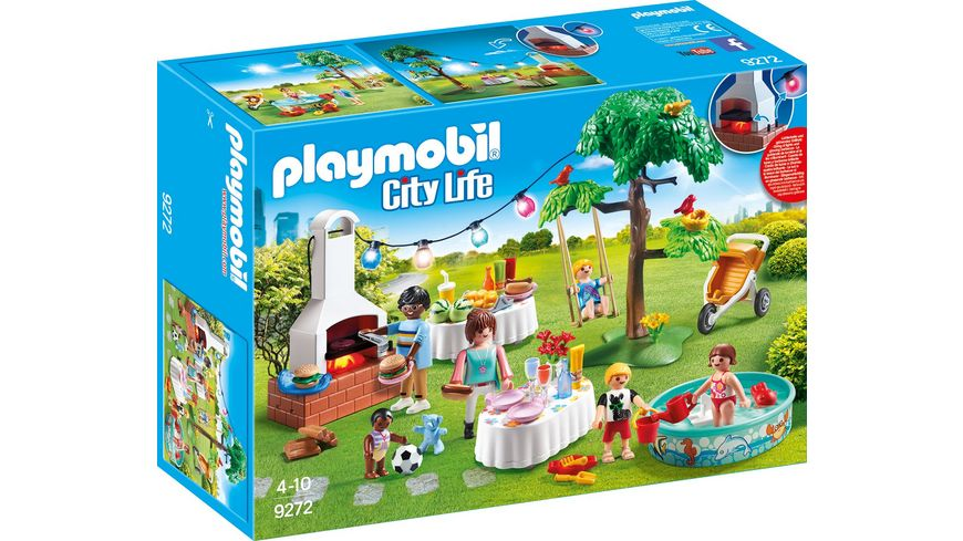 Playmobil City Life Küche Müller Playmobil 9272 - City Life - Einweihungsparty Online