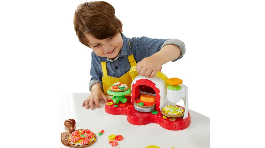 Play Doh Küchenmaschine Müller Hasbro - Play-doh Pizzaofen Mit 5 Dosen Play-doh In