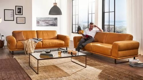 Ledercouch L Form Sofa-garnituren | Bei Multipolster Kaufen