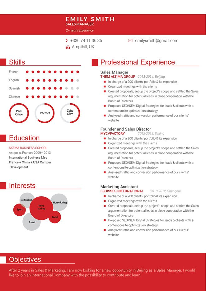 my cv factory free download