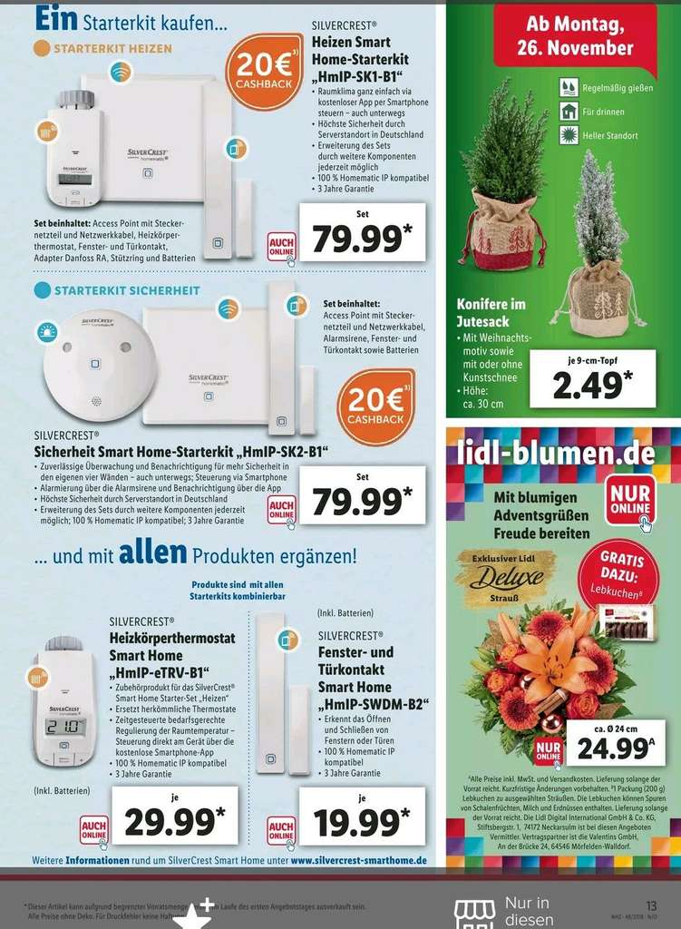 Silvercrest Lidl Homematic Lidl: Als Silvercrest Umgelabelte Homematic-geräte