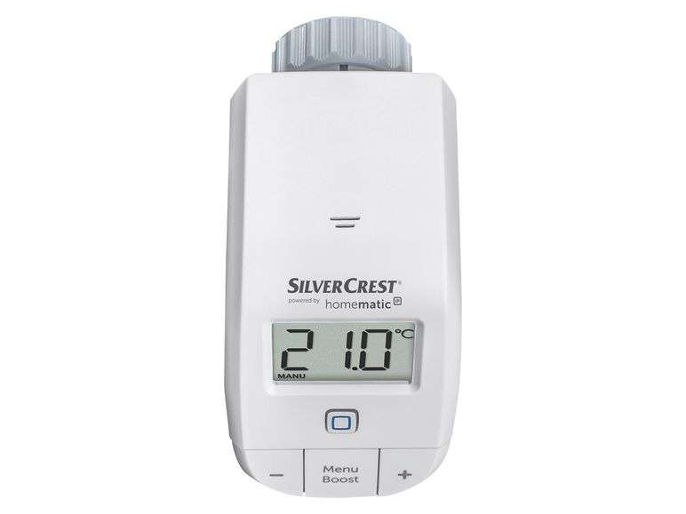 Silvercrest Lidl Homematic Silvercrest Heizkörperthermostat Smart Home ( Umgelabelte