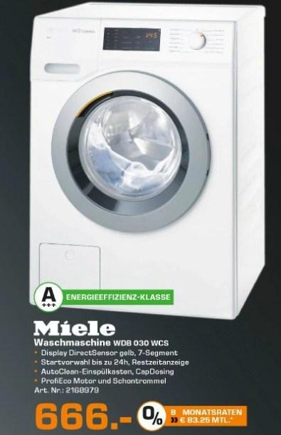 Miele Wasmachine W1