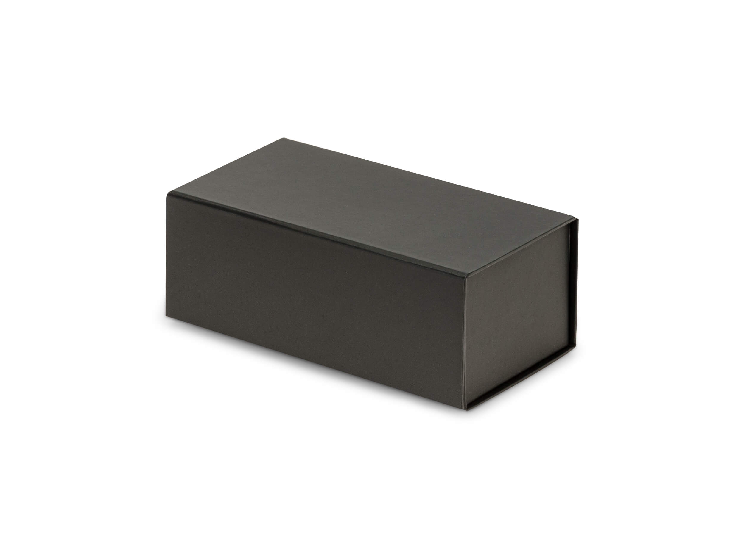 Black Gift Boxes Black Magnetic Closure Gift Boxes 7x4x2 75
