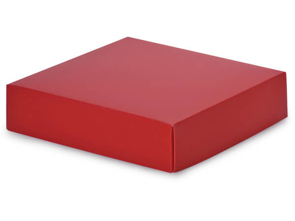 Matte Red Box Lids 6x6x15quot Nashville Wraps