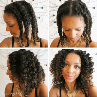How to Blend Your Transitioning Hair With a Twist-Out