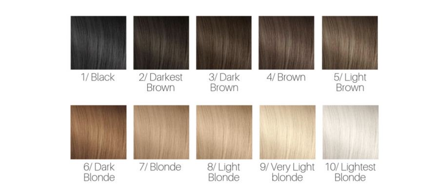 Hair Color Numbering - Choose the Right Shade! glamot