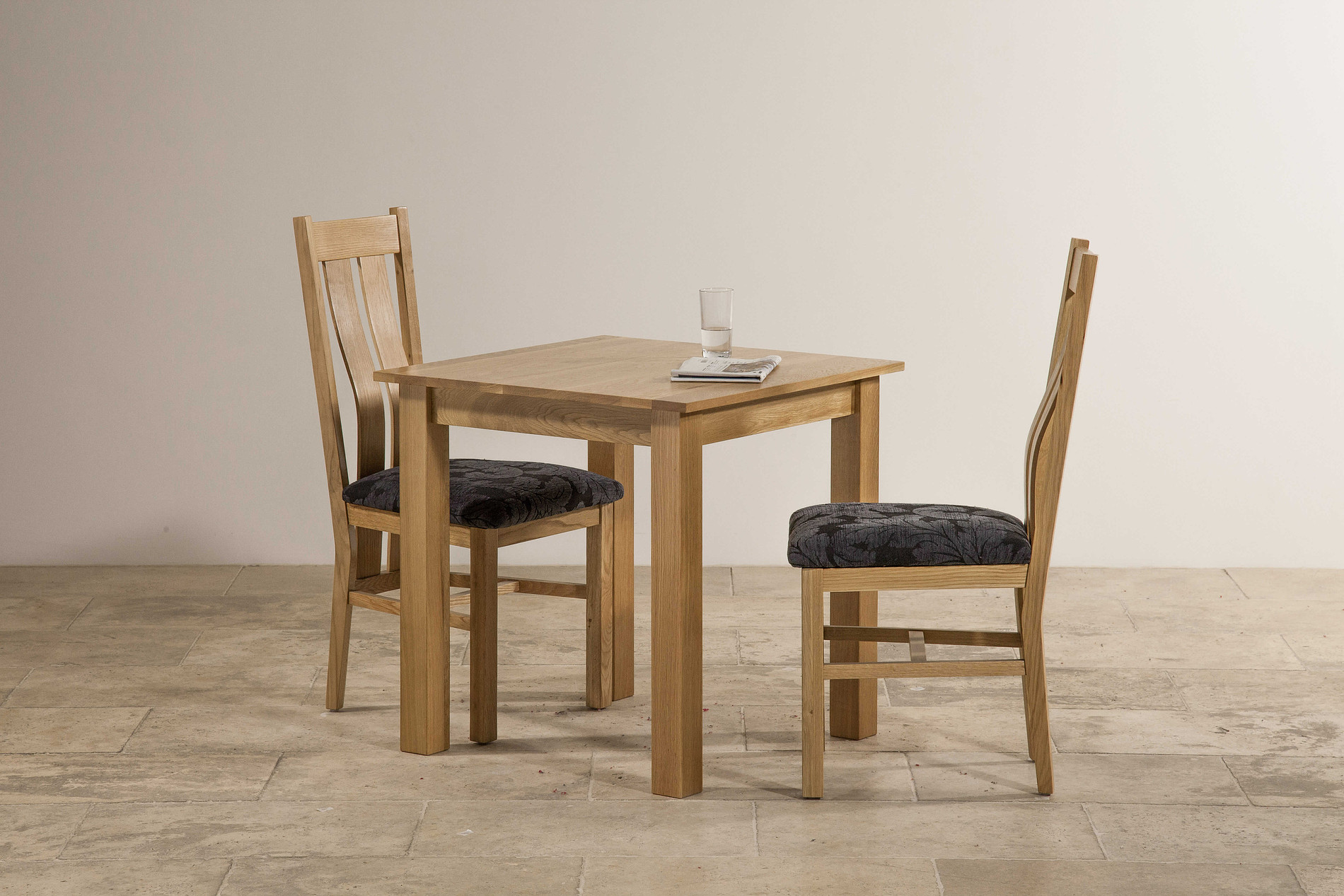6 Ft Square Dining Table Hudson 2ft 6 Quot X 2ft 6 Quot Natural Solid Oak Square Dining