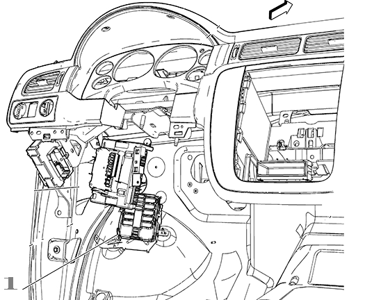 gm instrument panel jumper wiring harness