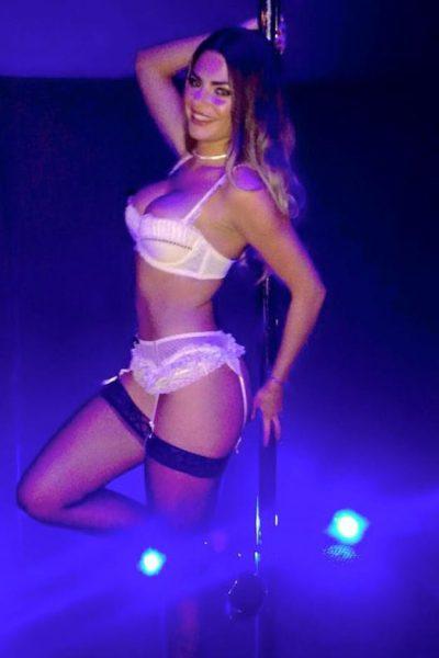 Love Island's Megan Barton Hanson pole dancer pictures emerge   OK! Magazine