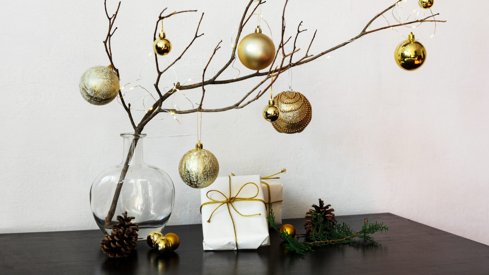 Alternative Christmas Tree Ideas Simple Tree Ideas Real Simple