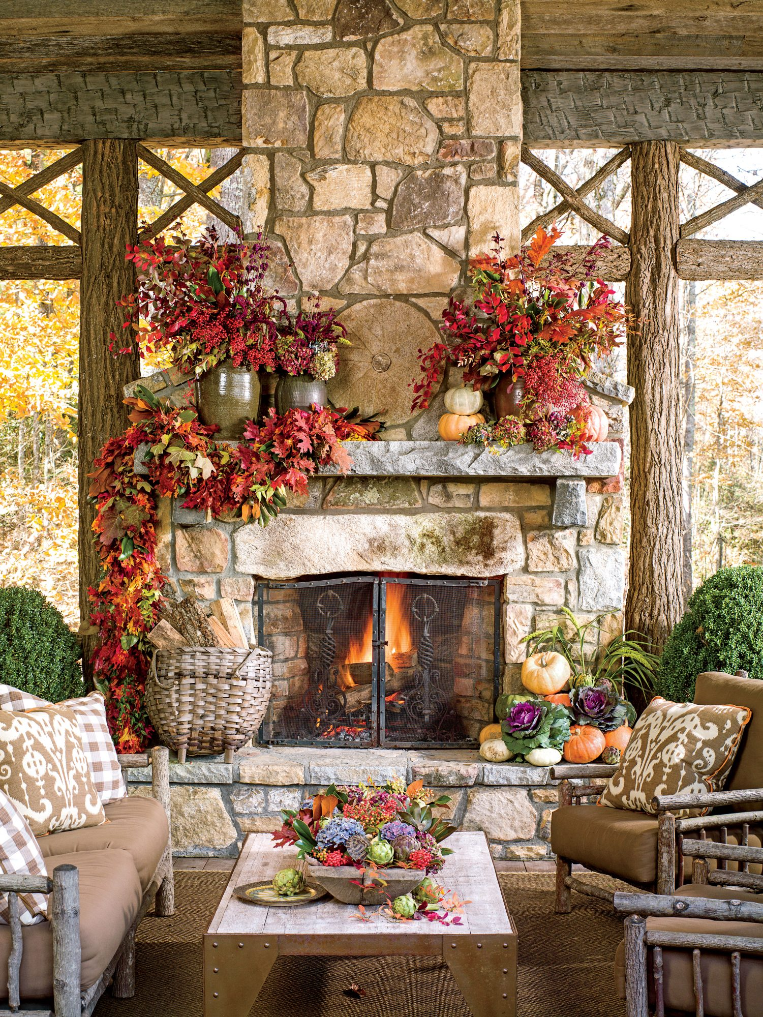 90 Fall Decorating Ideas For A Beautiful Autumn Season Southern Living