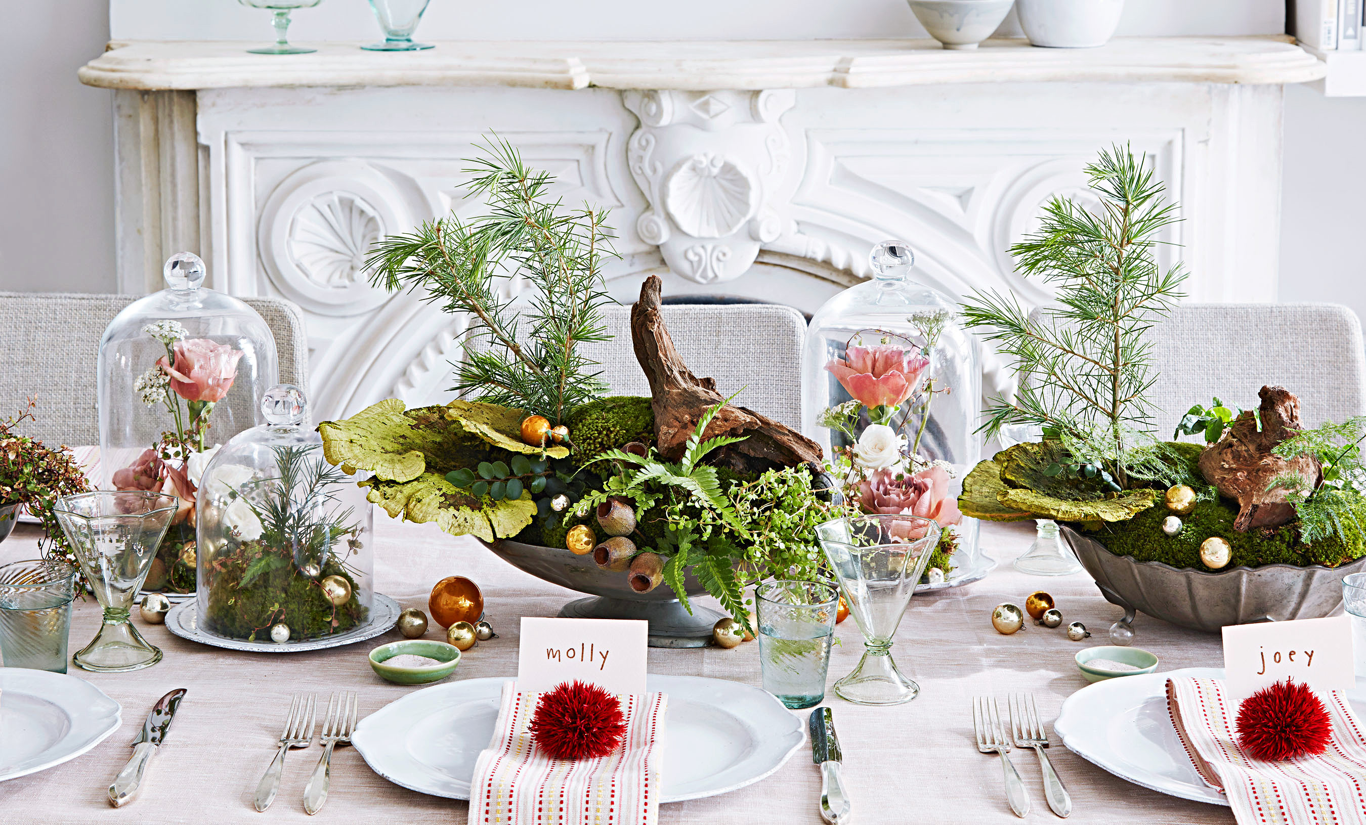 Beautiful Christmas Table Settings That Will Enchant Your Guests Martha Stewart