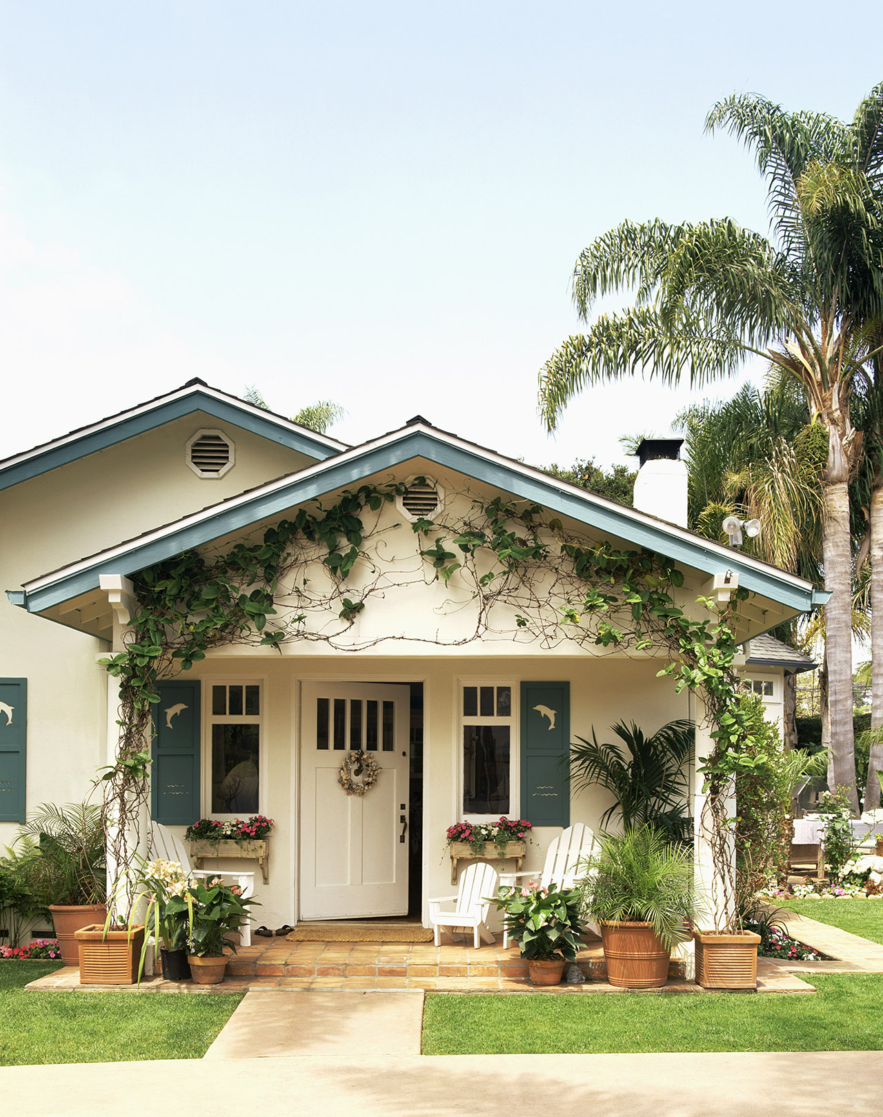 Tired Of Having To Repaint Your Entire Home Consider These Alternative Exterior Ideas Martha Stewart