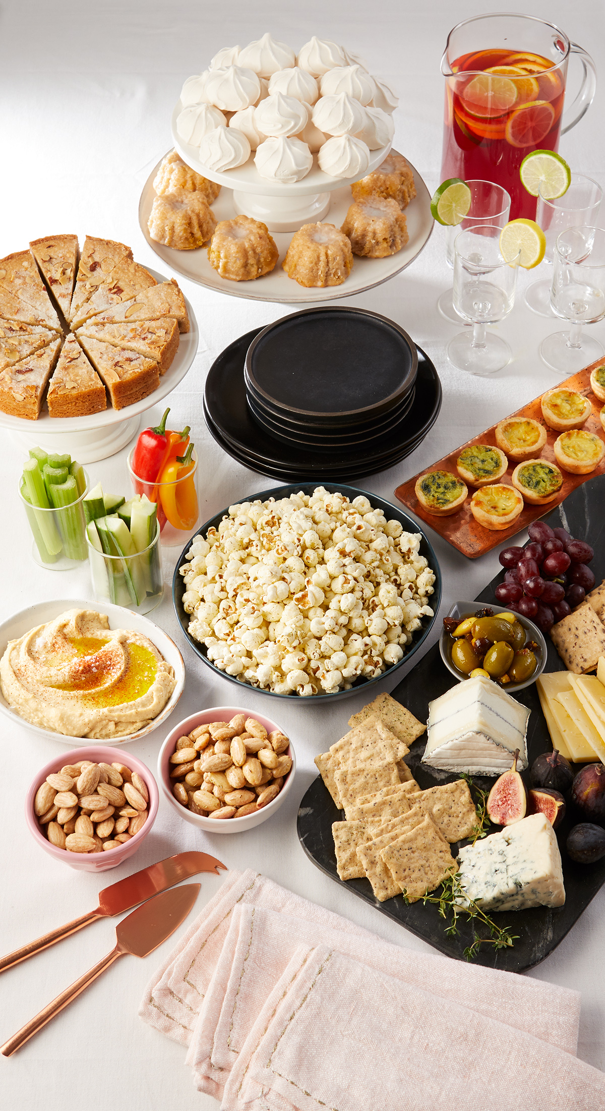 Table Snack Cuisine Host An Appetizers Only Dinner Party Finger Food Ideas