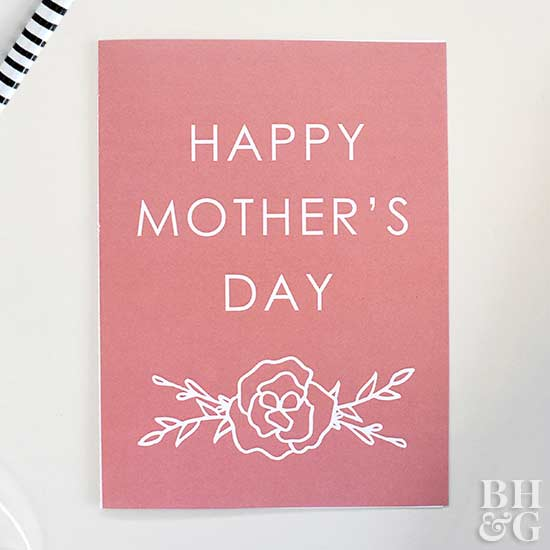 Easy-to-Make Mother\u0027s Day Cards Better Homes  Gardens