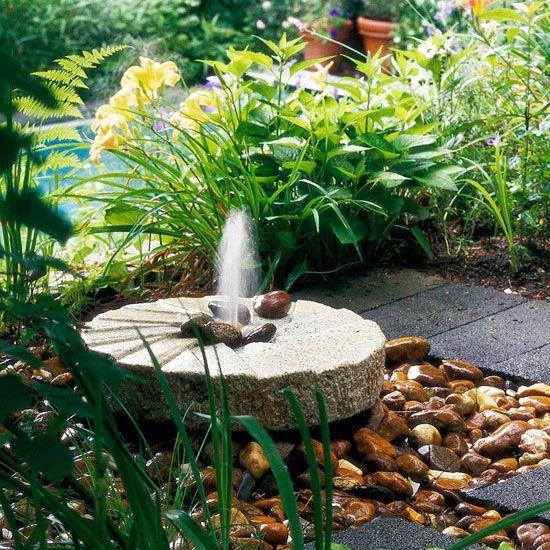 outdoor fountain plans
