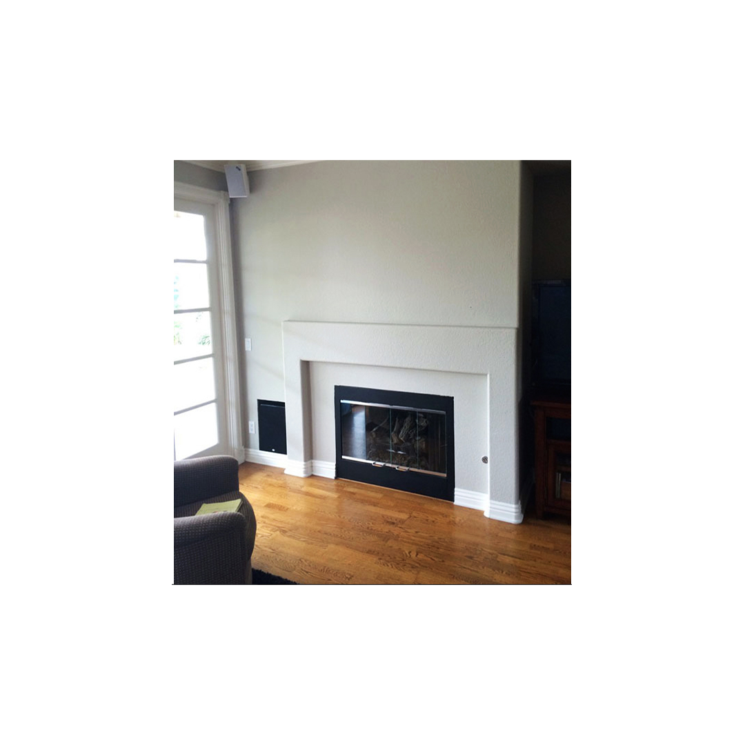 Update Old Brick Fireplace Before And After Fireplace Makeovers Better Homes Gardens