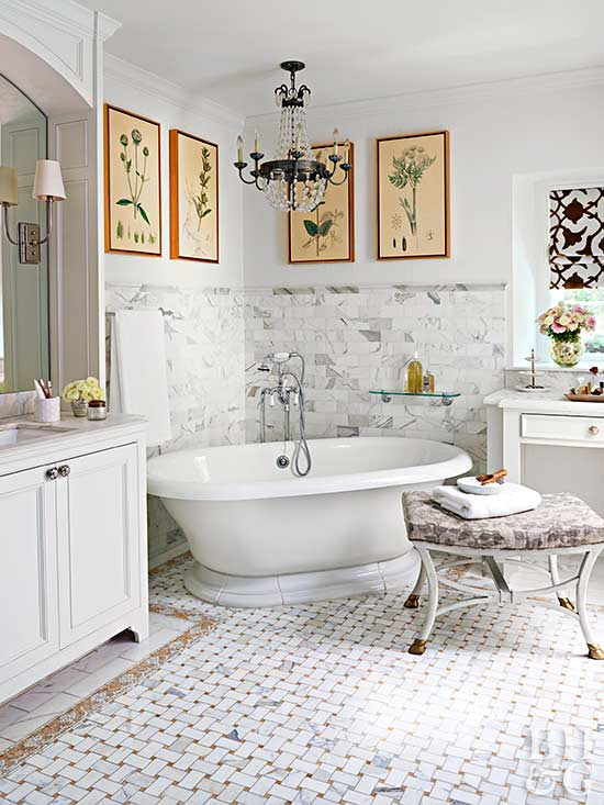 Traditional Bathroom Decor Ideas Better Homes Gardens