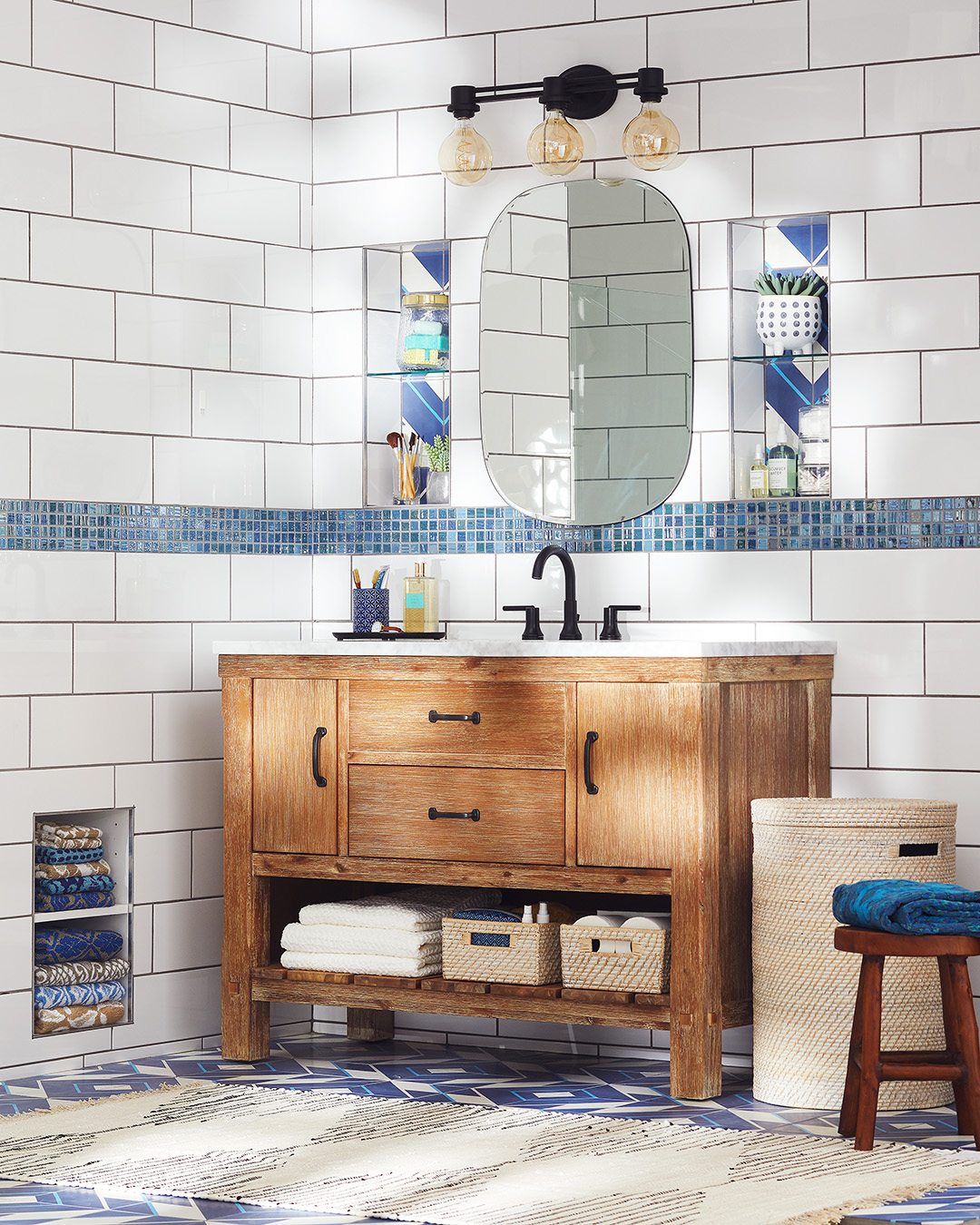 Subway Tiled Bathrooms Our Best Bathroom Subway Tile Ideas Better Homes Gardens