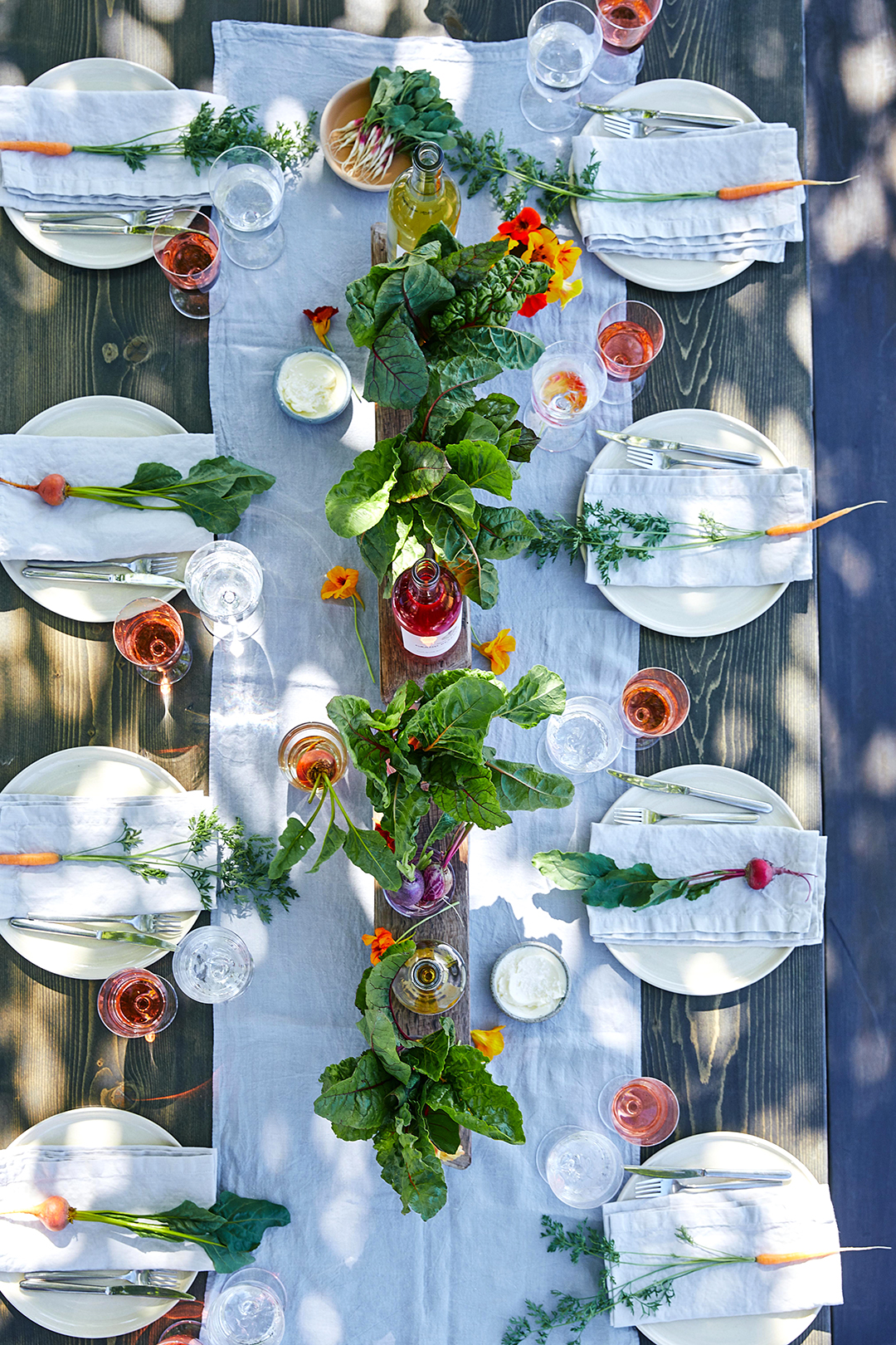 Rustic Buffet Table Setting 40 Easy Easter Centerpieces And Table Settings Better