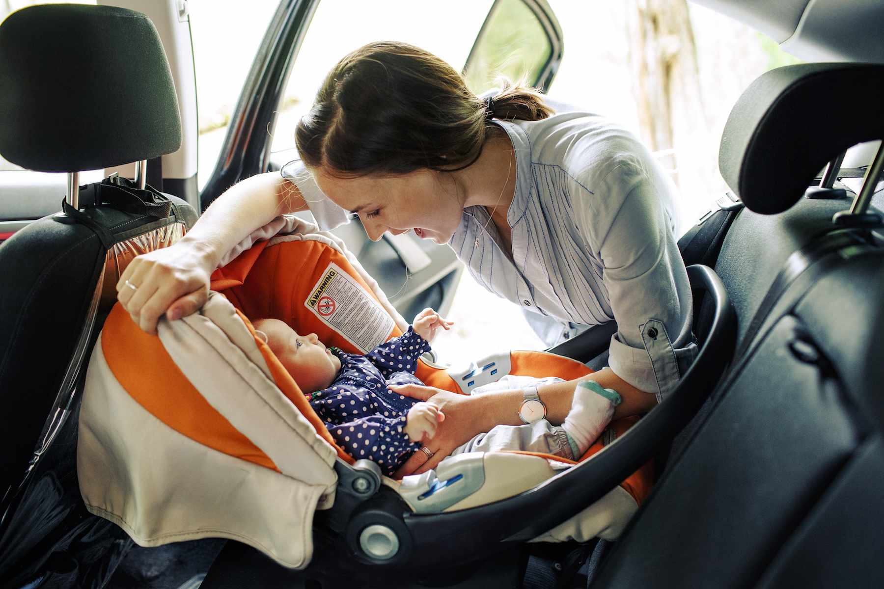 Newborn Car Seat Set Up How To Put A Baby Into A Car Seat Properly Parents