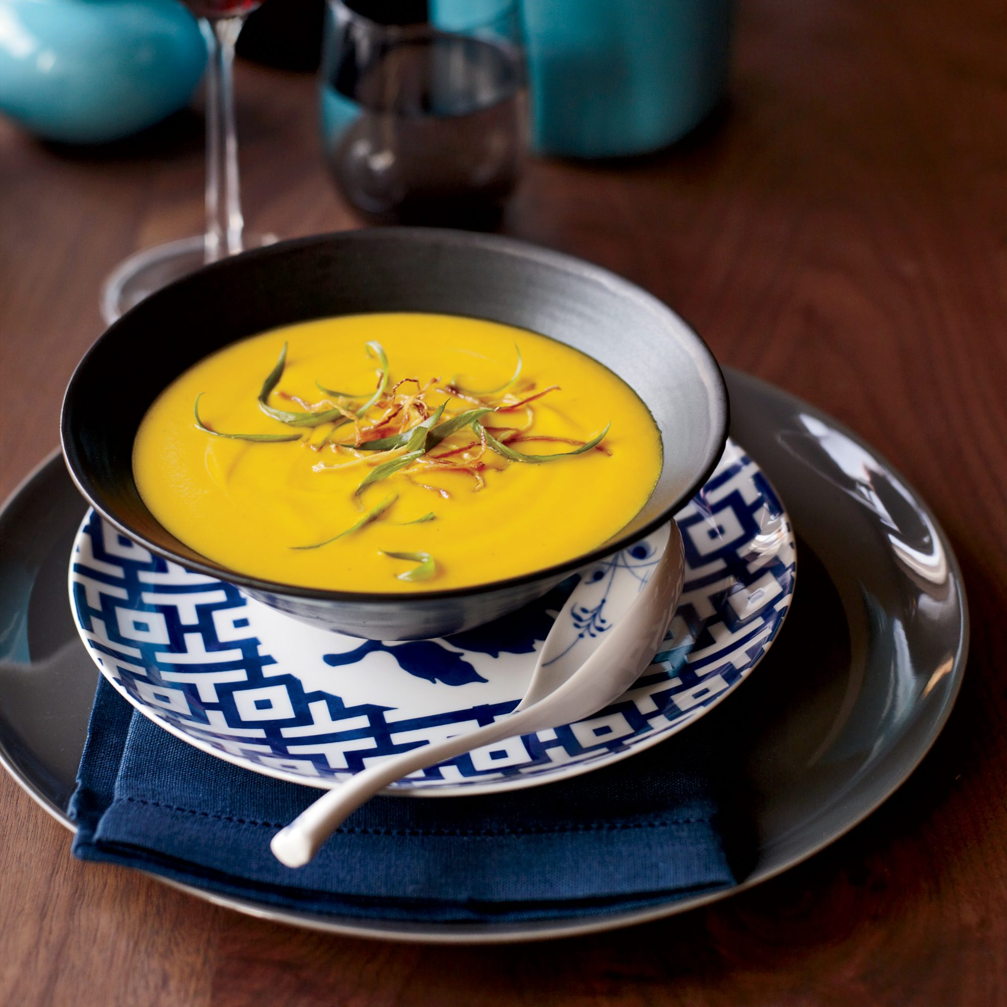 Thai Red Curry Squash Soup Recipe Joanne Chang Food Wine