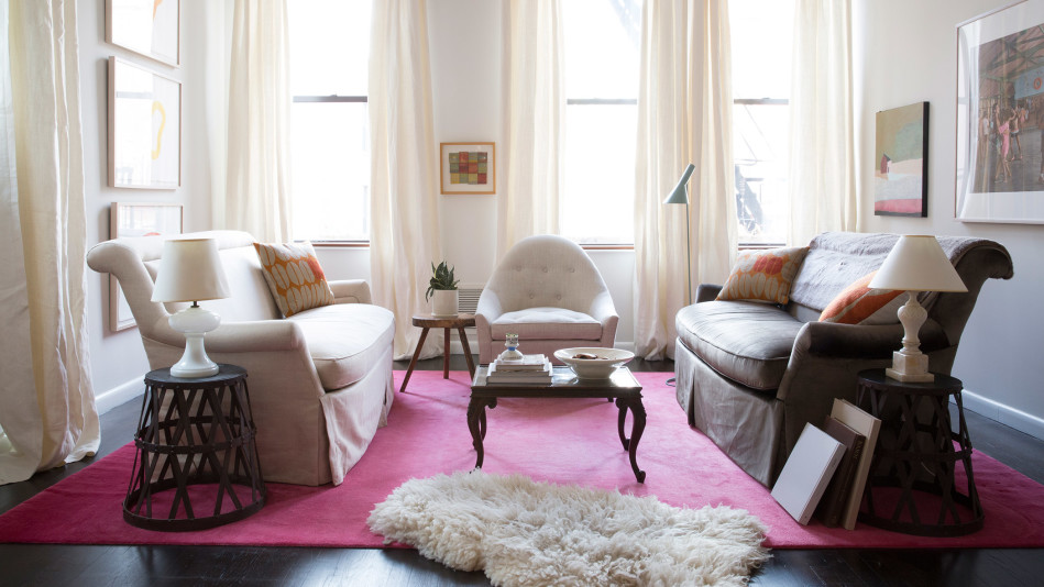 How to Make a Small Room Look Bigger - how to make a small living room look bigger