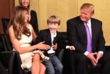 Donald Trump And Barron Family