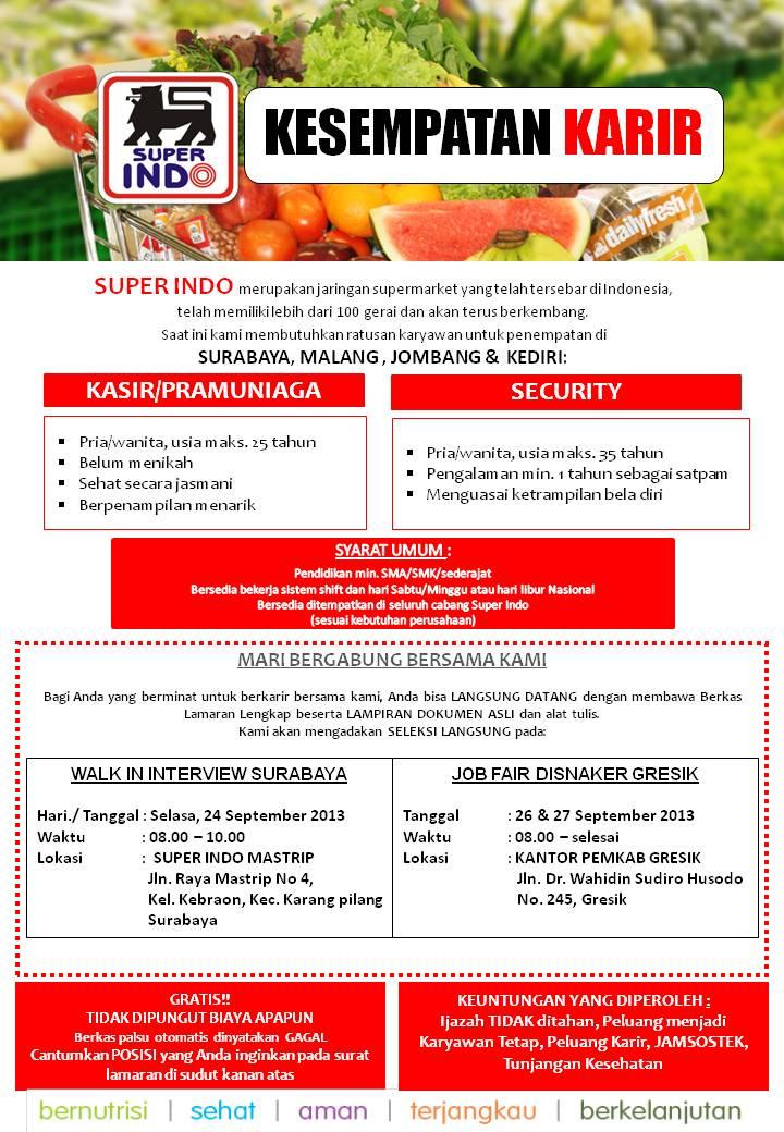 Lowongan Kerja 2013 Disnaker Gresik Lowongan Kerja Pt Kaltim Prima Coal Terbaru Agustus 2016 Lowongan Kerja Superindo Surabaya Malang Jombang And Kediri