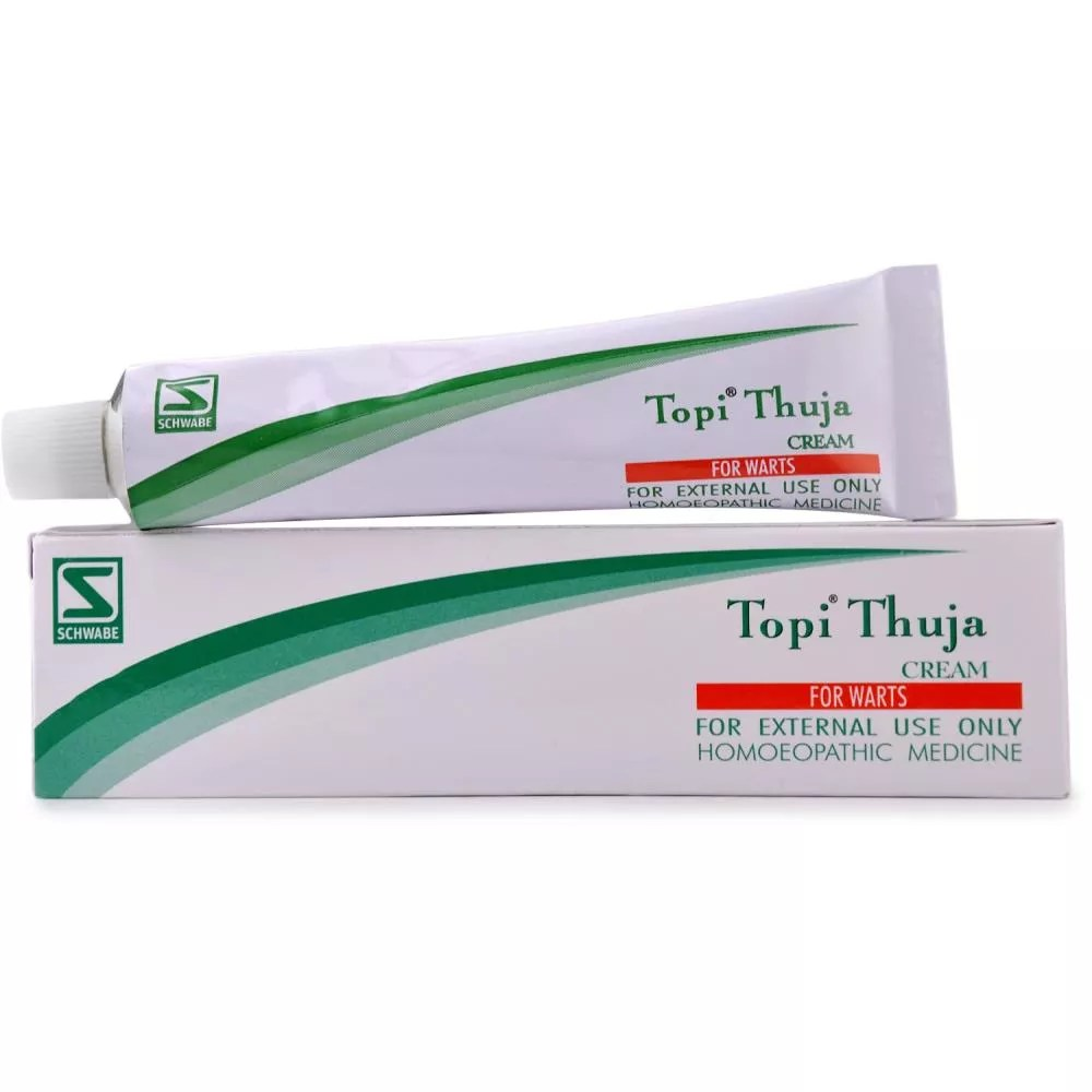 Thuja Lm 18 Willmar Schwabe India Topi Thuja Cream 25g