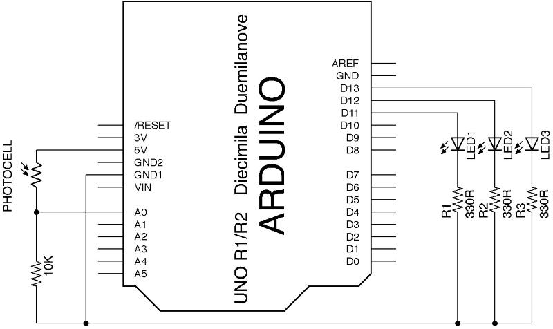Light Meter1 Circuit Schematic Diagram - Wiring Diagrams