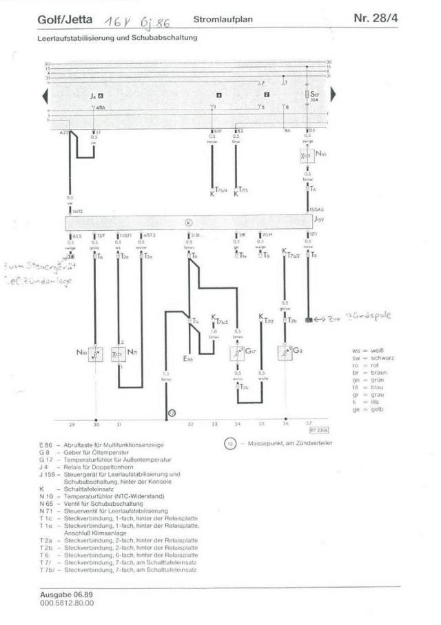 Stromlaufplan Megane 2