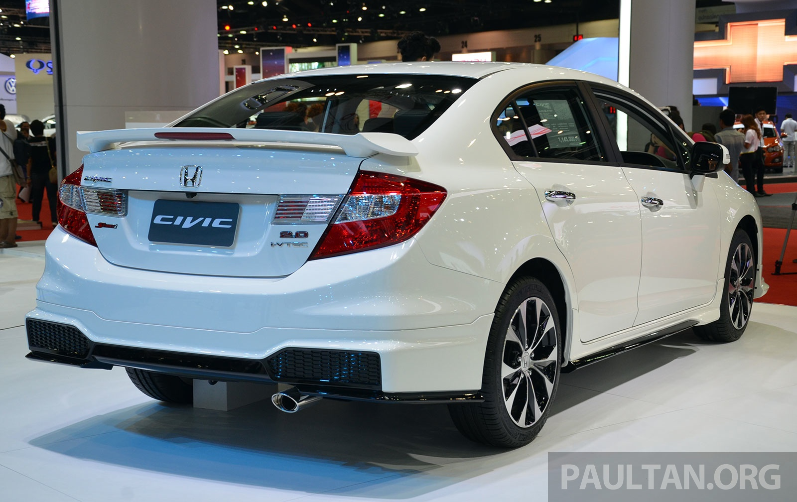 Car And Bike Live Wallpaper 2014 Honda Civic Facelift Live Photos From Bangkok Motor