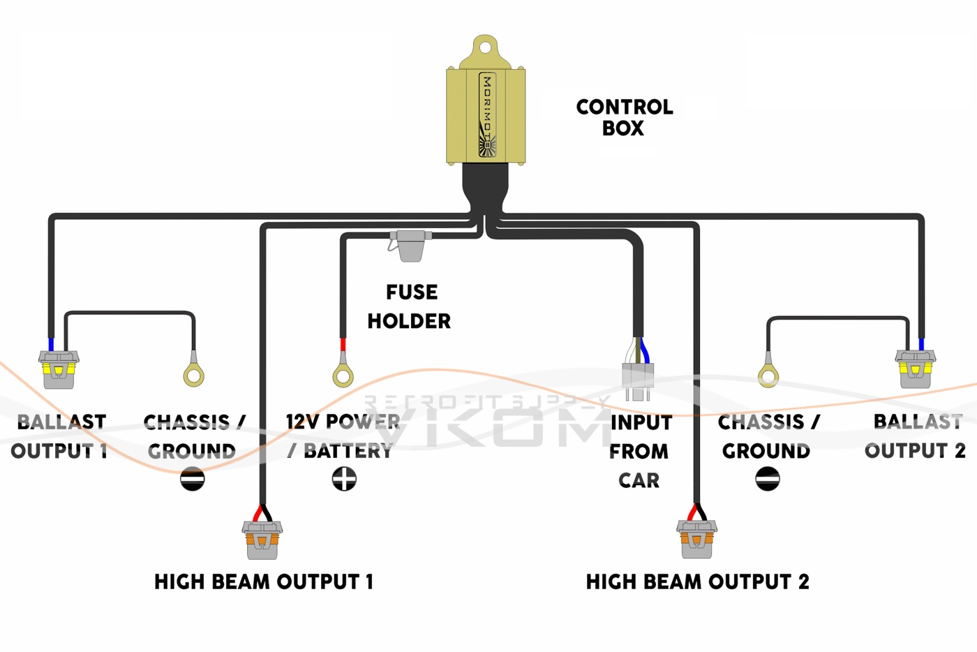 9007 hid relay wiring diagram free picture