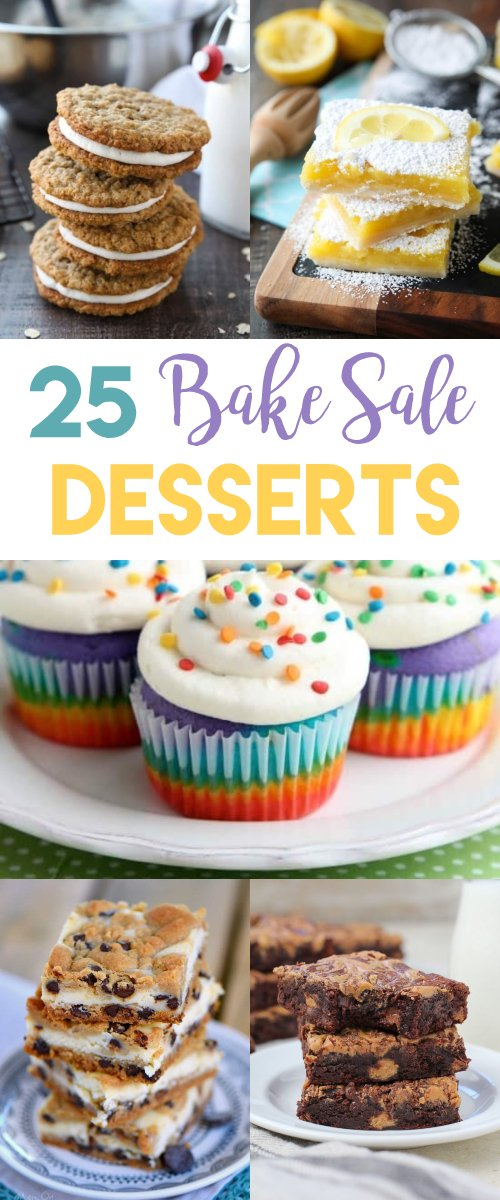 25 Bake Sale Desserts That Will Sell Out Fast!