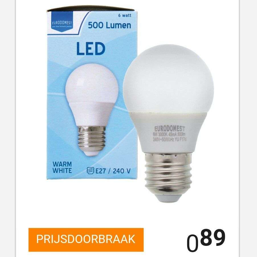 Led Verlichting 50 Lampjes Action Led Lamp E27