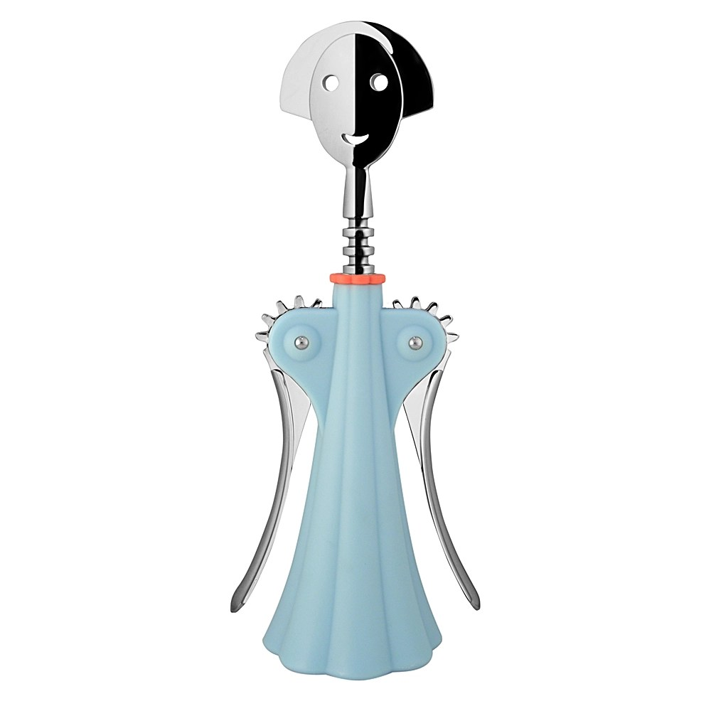 Alessi Anna Alessi - Anna G. Blue Corkscrew | Peter's Of Kensington