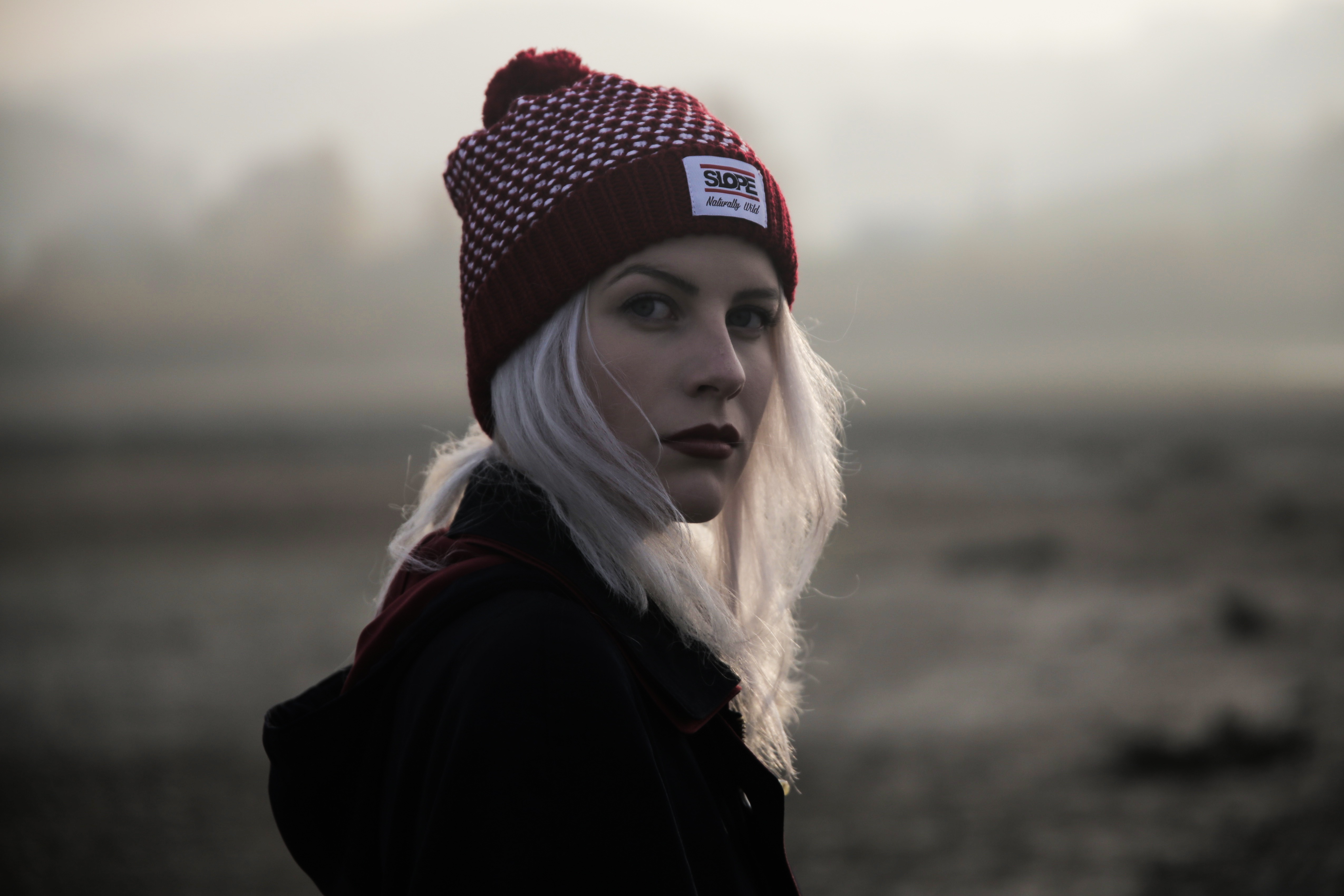Fall High Definition Wallpapers Free Stock Photo Of Adult Beanie Beautiful