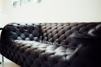 Free stock photo of black, couch, furniture