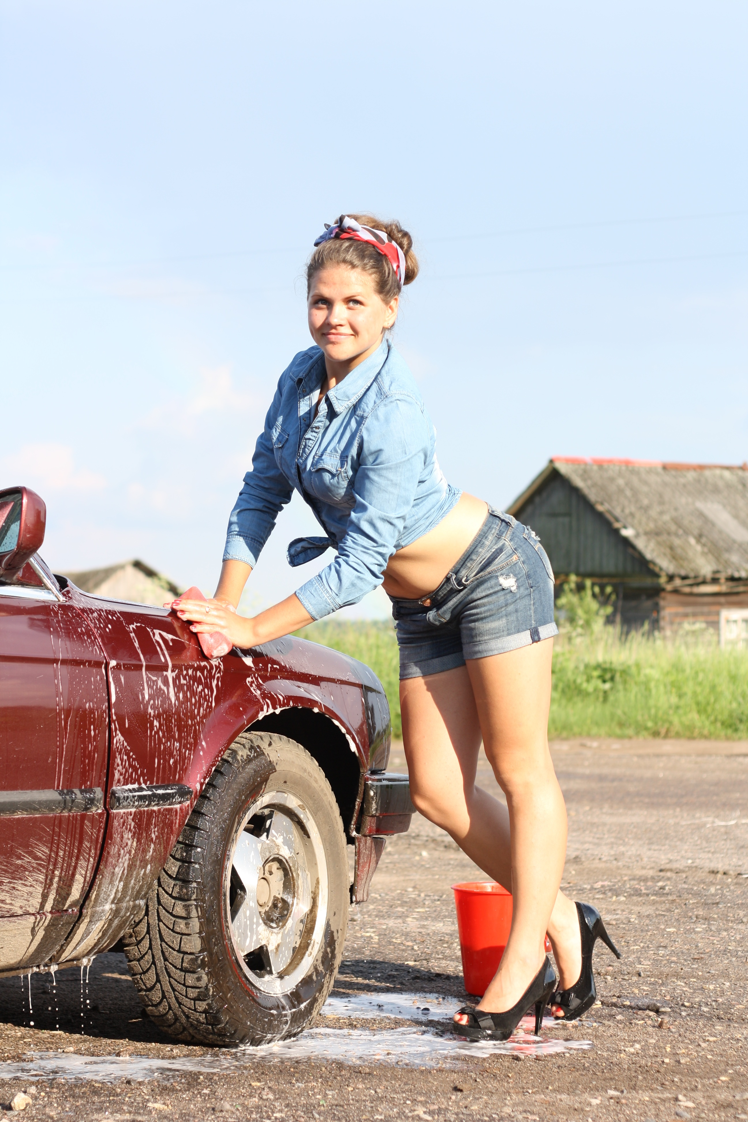 Free Wallpapers Cars And Beautiful Ladies Women S Daisy Dukes 183 Free Stock Photo