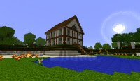 best medium spawn house ever Minecraft Project